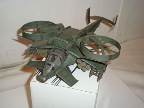 The AT-99 Scorpion Gunship - Avatar