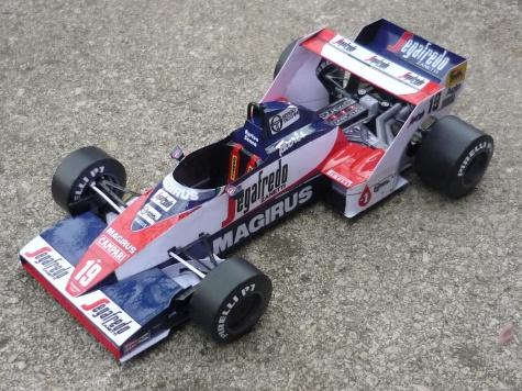 Toleman TG-183B A.Senna