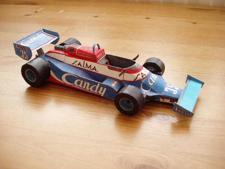 Toleman TG181, 1981 Brian Henton