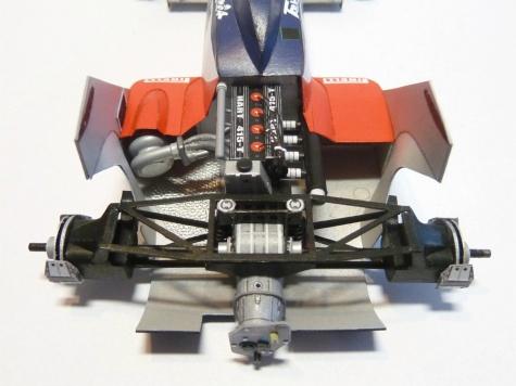 Toleman TG-183B Hart,Brazil GP ´84