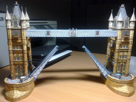 Tower Bridge - 1.časť