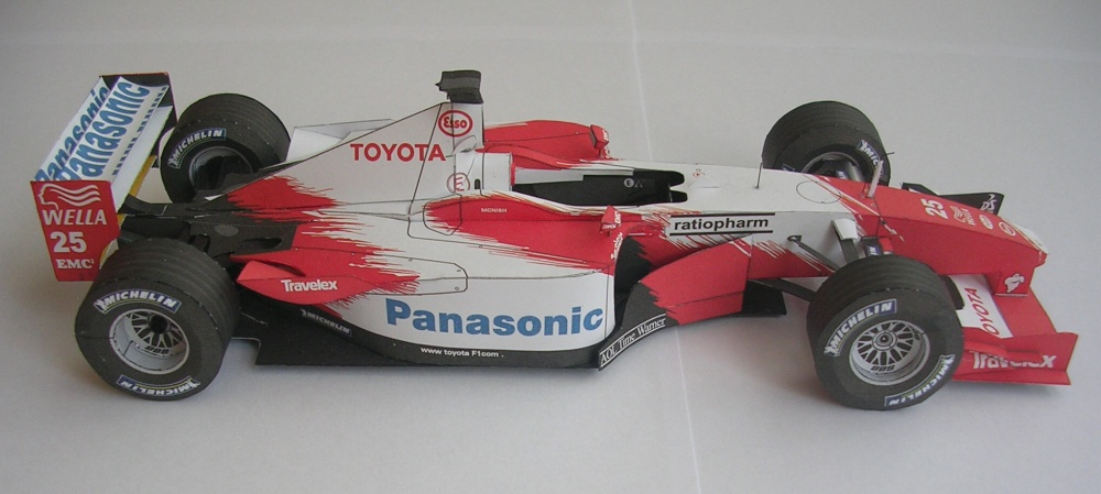 Toyota TF 102, 2002 Allan McNish