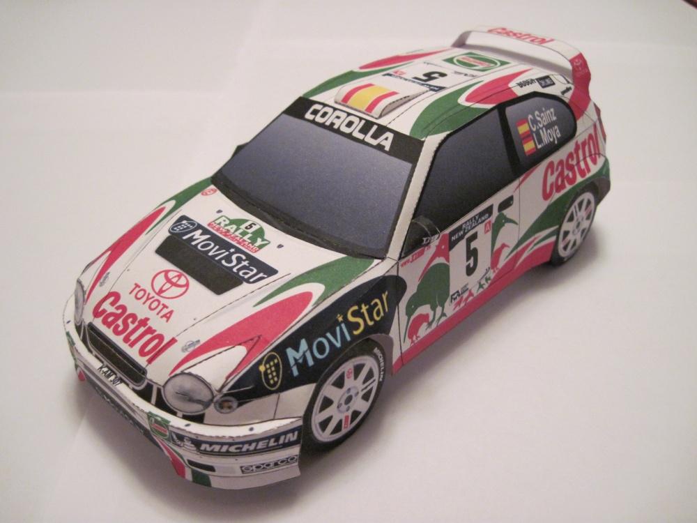 TOYOTA COROLLA WRC 1998