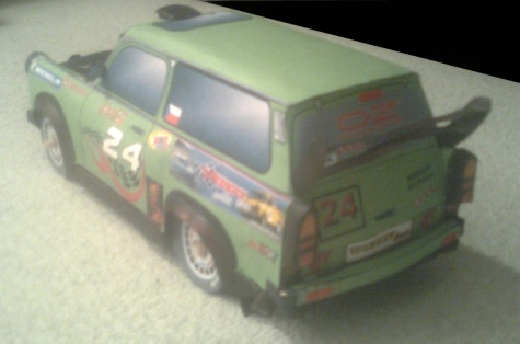 Trabant 601 combi tuning