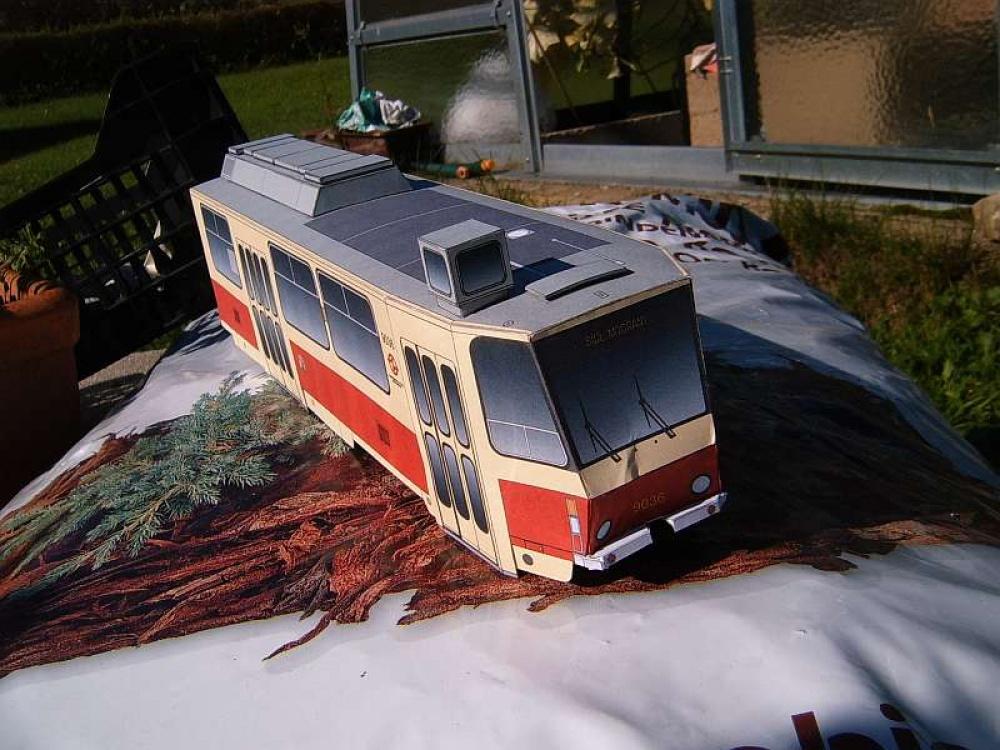 tramvaj ČKD Tatra KT8D5 DP Praha
