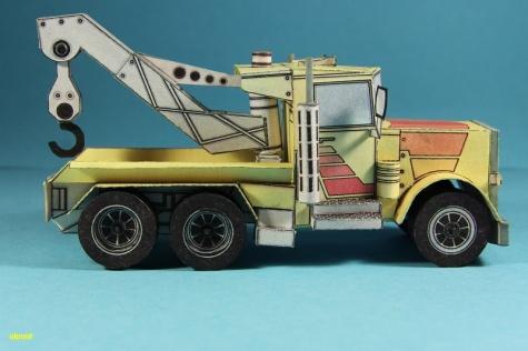 Transportér betonových bloků