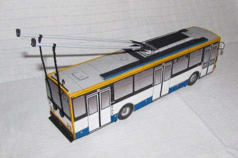 Trolejbus  Škoda 14 Tr