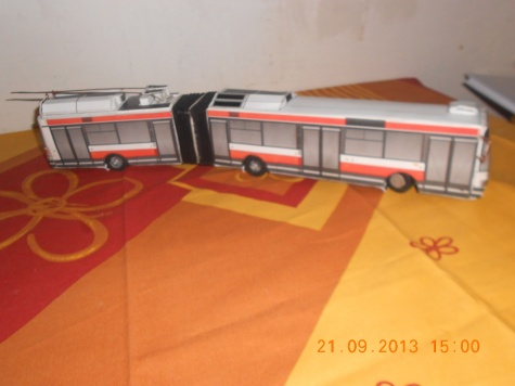 trolejbusu Škoda 22Tr.