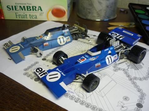 Tyrrell 003 / Stewart / Monako 71