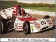 Tyrrell 004, E. Keizan,  GP South Africa 1974 - beta