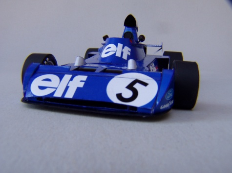 Tyrrell 006, 1973, J. Stewart