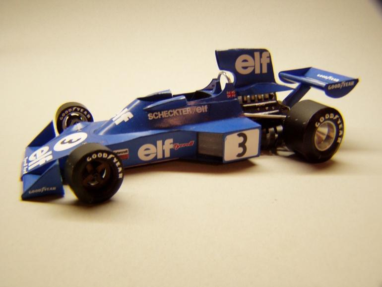 Tyrrell 007, 1974, J. Scheckter