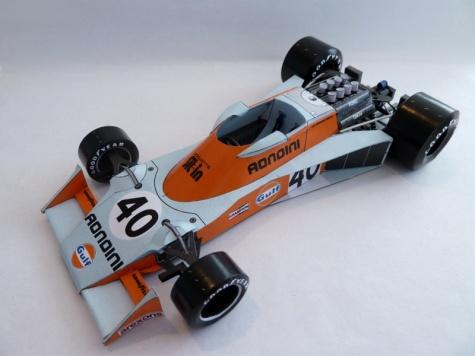 Tyrrell 007 VC Holandska