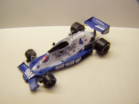 Tyrrell 008, 1978, P. Depailler