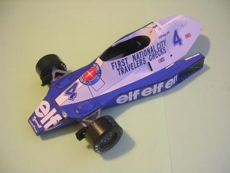 Tyrrell 008, 1978 Patrick Depailler