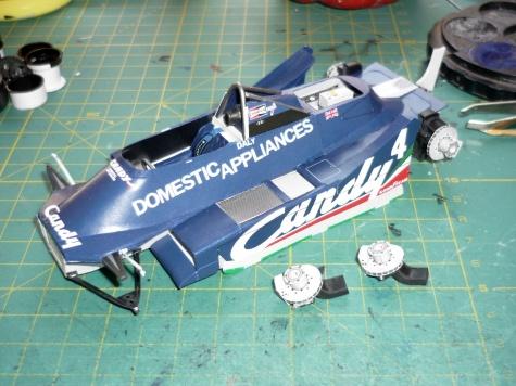 Tyrrell 009 - Derek Daly - GP Argentina 80