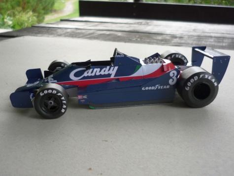 Tyrrell 009 - Didier Pironi - GP Monako 79