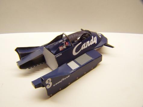 Tyrrell 009, 1979, D. Pironi, GP Belgie