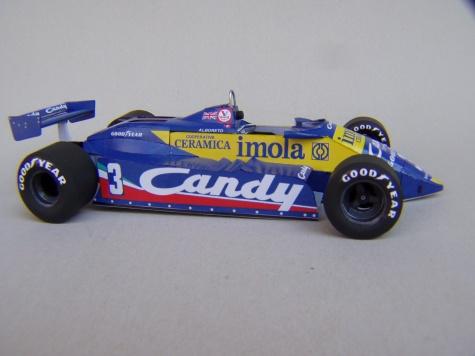 Tyrrell 011, 1982, M. Alboreto, GP Monaka
