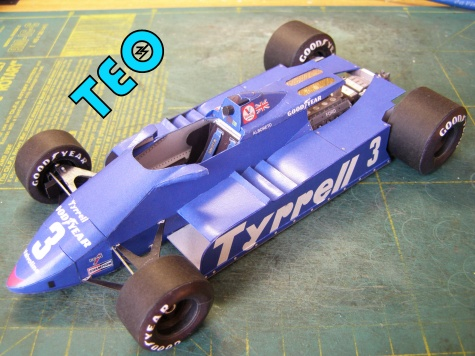 Tyrrell 011 GP USA