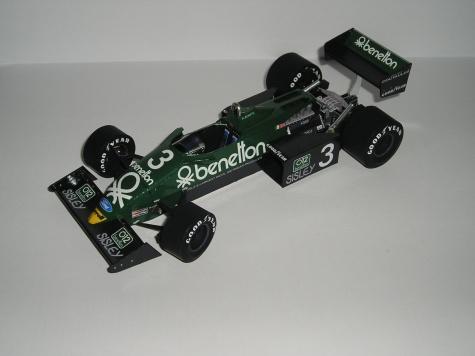 Tyrrell 011B  přestavba z Tyrrell 011