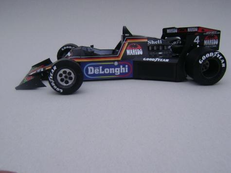 Tyrrell 012, 1984, Stefan Bellof, GP Monaka