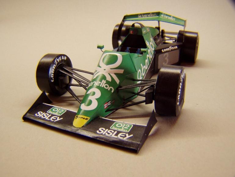 Tyrrell 012/1,  1983,  M. Alboreto