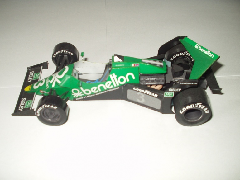 Tyrrell 012 1 Ford