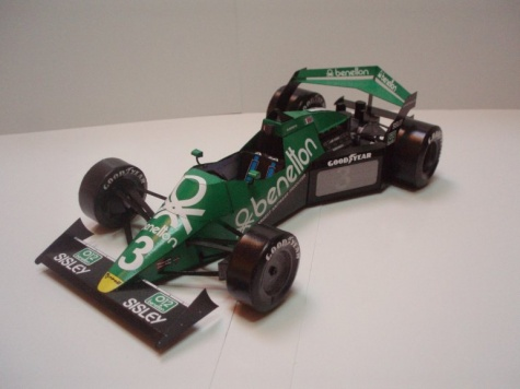 Tyrrell 012/1 Train version