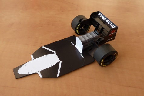 Tyrrell 023 (1995; Salo)