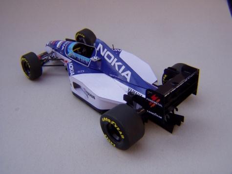 Tyrrell 023, 1995, M. Salo