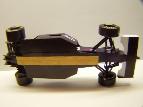 Tyrrell 023, 1995, U. Katayama, GP Brazílie