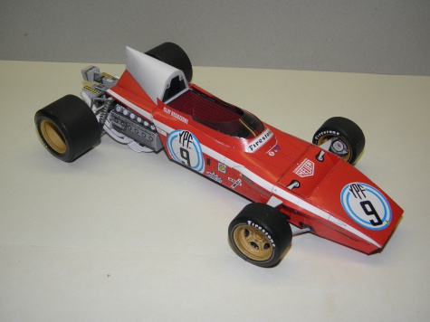 Ferrari 312B2, 1972, C. Regazzoni