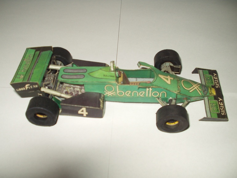 Tyrrell 120_1 Ford