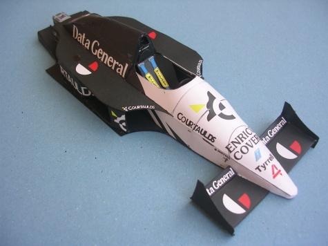 Tyrrell DG/016, 1987 Philippe Streiff