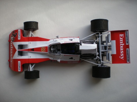 Tyrrell Ford 004 - 1974 Eddie Keizan
