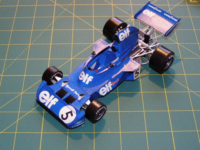 Tyrrell Ford 006