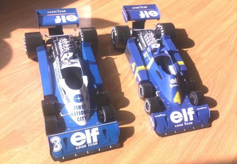 Tyrrell P34 - 1976 J. Scheckter