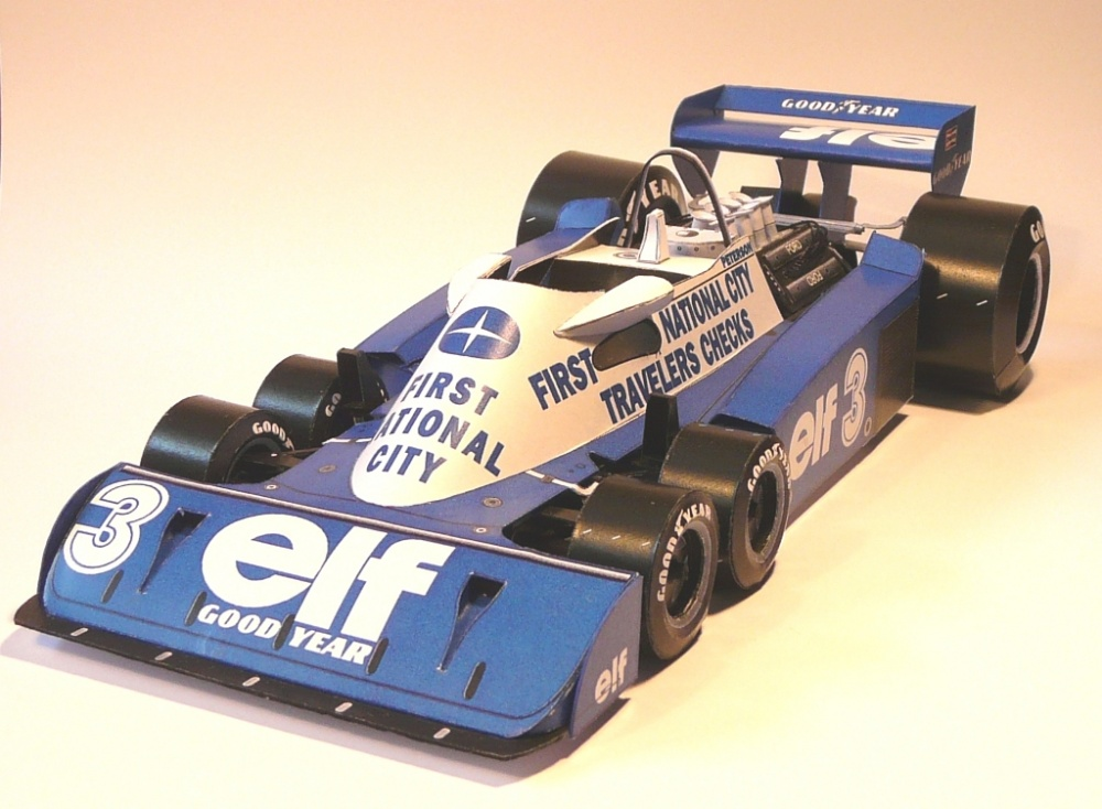 Tyrrell P34 - 1977, R.Peterson