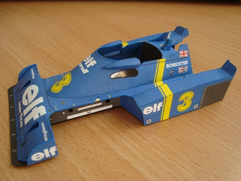 Tyrrell P34 - 1976 - Jody Scheckter