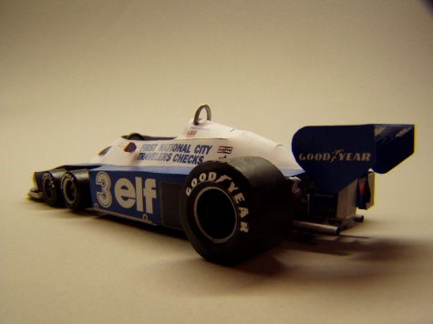 Tyrrell P34, 1977, R. Peterson