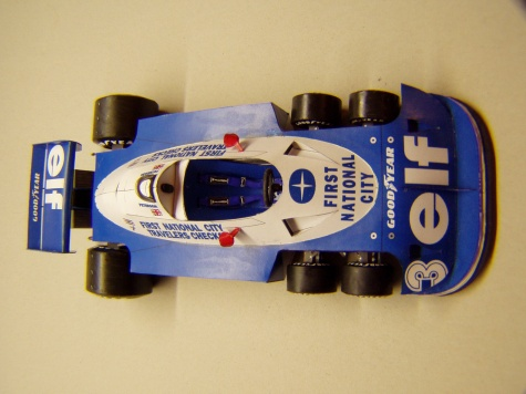 Tyrrell P34, 1977, R. Peterson
