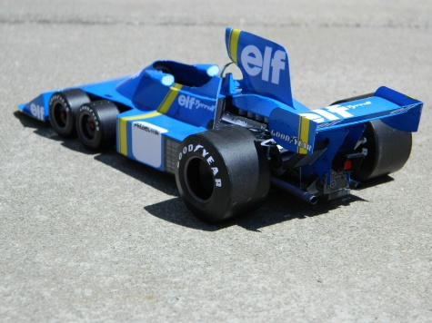 TYRRELL P34 1975-prototyp