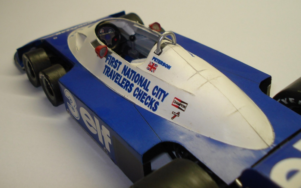 Tyrrell P34 Peterson GP Brazil 77