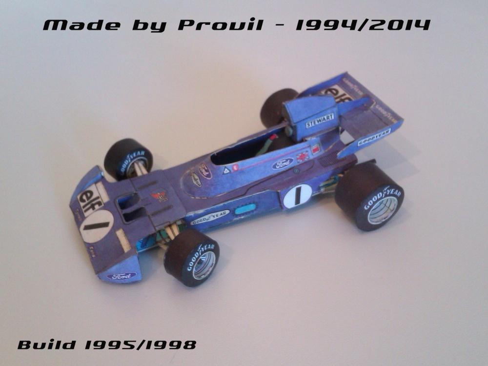 Tyrrell 005 - (1) Jackie Stewart