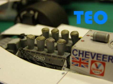 Tyrrell 011.81 trojverze