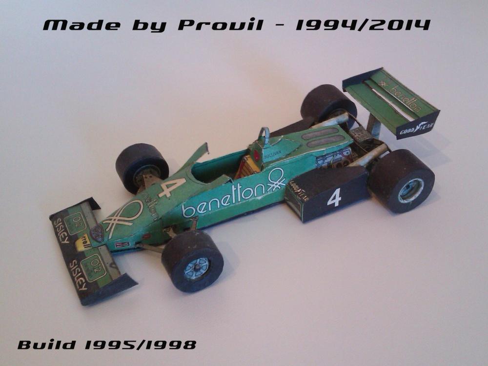 Tyrrell 011B - (4) Danny Sullivan