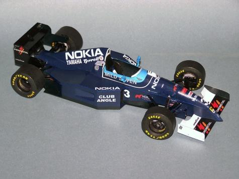 Tyrrell 023 GP Brazil
