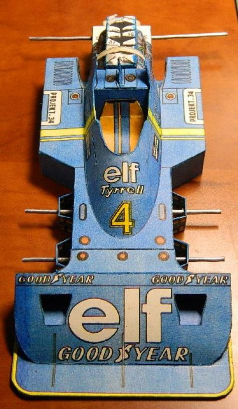 Tyrrell P34  retro