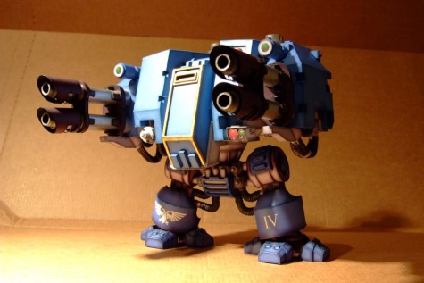 Ultramarines Dreadnought Mk. V.
